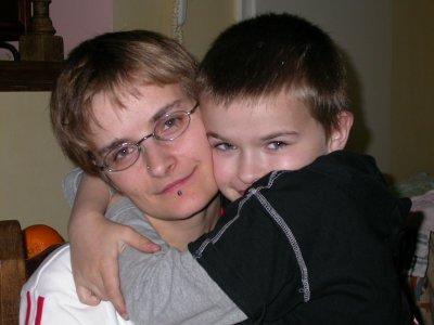 moi et mon fils anthony.