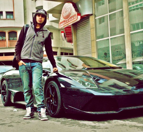 ツ JOBA ツ Avec My Car LOBORGHINI <3<3