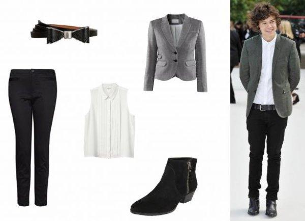 Le Look idéal de Harry Styles
