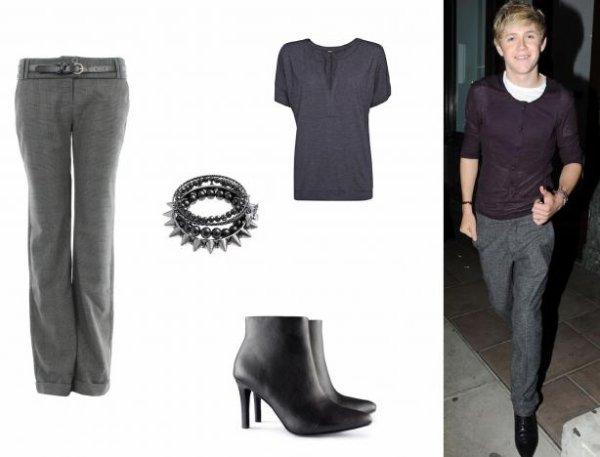 Le Look idéal de Niall Horan