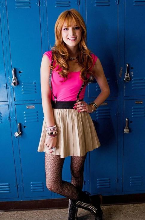 Look de Bella Thorne : Sur le tournage d'un clip à L.A