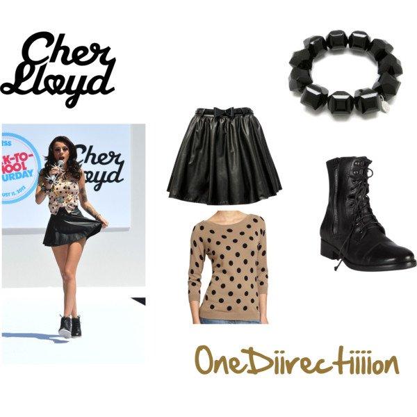 Pour OneDiirectiiiion  :  Cher Lloyd !