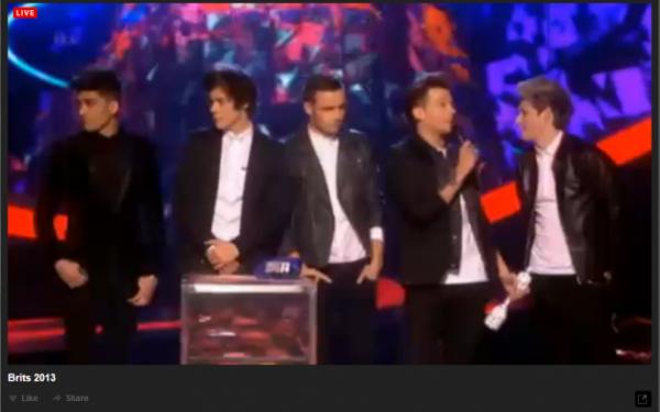 Brits Award 2013