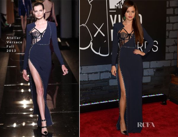 Selena Gomez In Atelier Versace – 2013 MTV Video Music Awards #VMAs