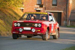Boucle de Charleroi 2011 Moerenhout Guy Vanoverschelde Jens Fiat 131 Abarth 1976