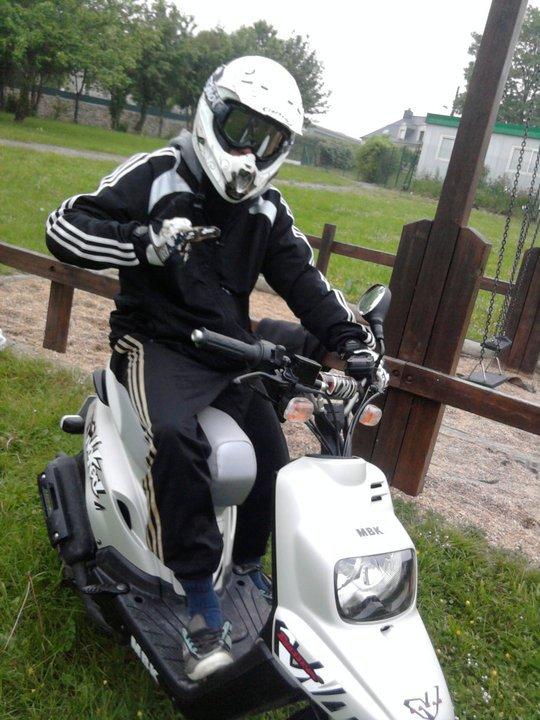 Moi avec mon scooter ;)