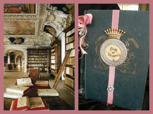 Bibliothèque magique et livre des rêves ...