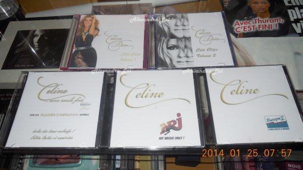 Céline Dion  DVD maison fait part un ami