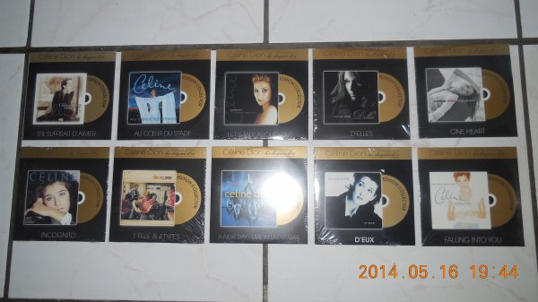 celine dion la collection disque d or de télé loisir