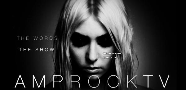 - Nouveau film de AmpRockTV avec les premières Pretty Reckless ce vendredi!-