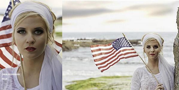 • Caroline Sunshine apparaît dans le magazine Nationalist!