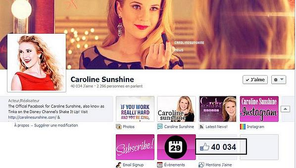"• Caroline Sunshine devient présidente du club ""JJJ Book Club""!"
