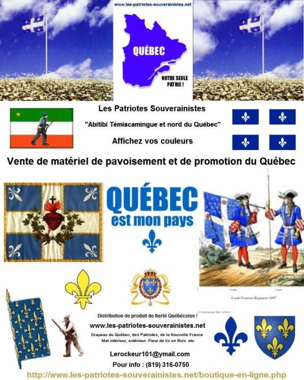s'afficher, s'affirmer, Le Pays du Québec