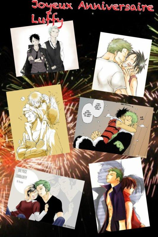 joyeux Anniversaire .. Luffy ^-^