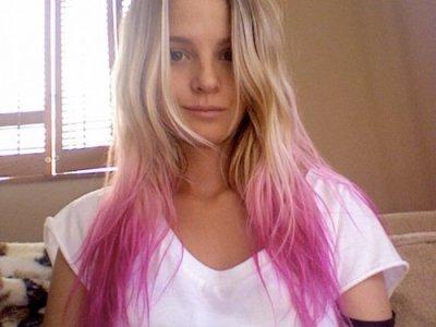 PINK HAIR !!