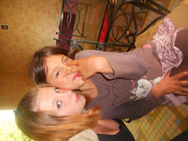 Tite soeur et moi ♥