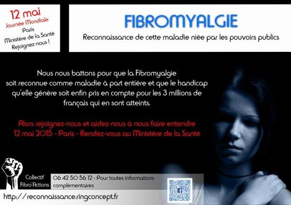 Les personnes atteintes de fibromyalgie ont besoin de votre soutien !!!