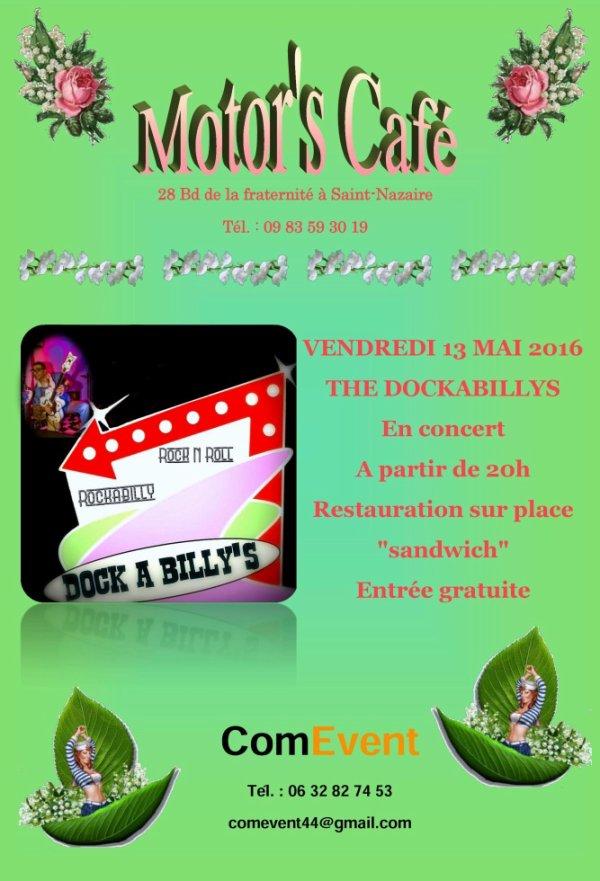 Concert Dockabilly's au Motor's café