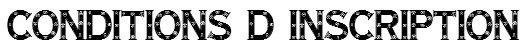 ☀ Inscriptions - Conditions d'inscription ☀