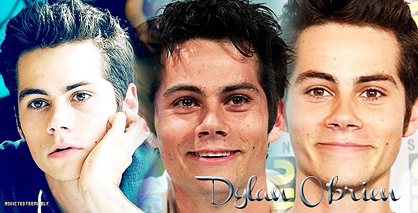 Dylan O'Brien as Stiles Stilinski  Création : Commende-Gallerie Bannière : Arrow-News♥