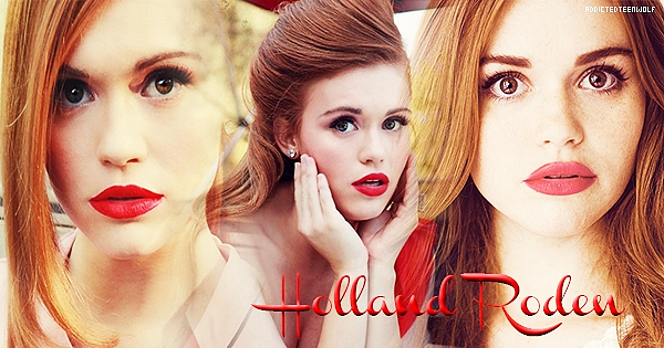 Holland Roden as Lydia Martin  Création : Commende-Gallerie  Bannière : x-Fantastic-Street