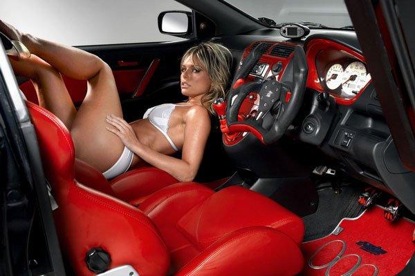 SEs ma meuf dans la voitures tuné !!!!
