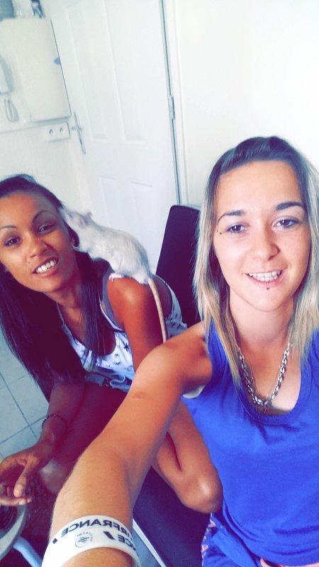 Avec ma soeur 💙