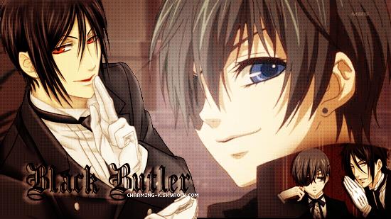 . Présentation/ Newletter / Création / Décoration Manga : Black Butler .