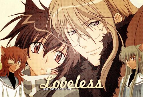 . Présentation/ Newletter / Création / Décoration Manga : Loveless .