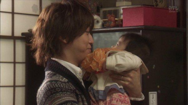 Kazuya, une alliance au doigt et un bébé dans les bras.... la fin d'un mythe !