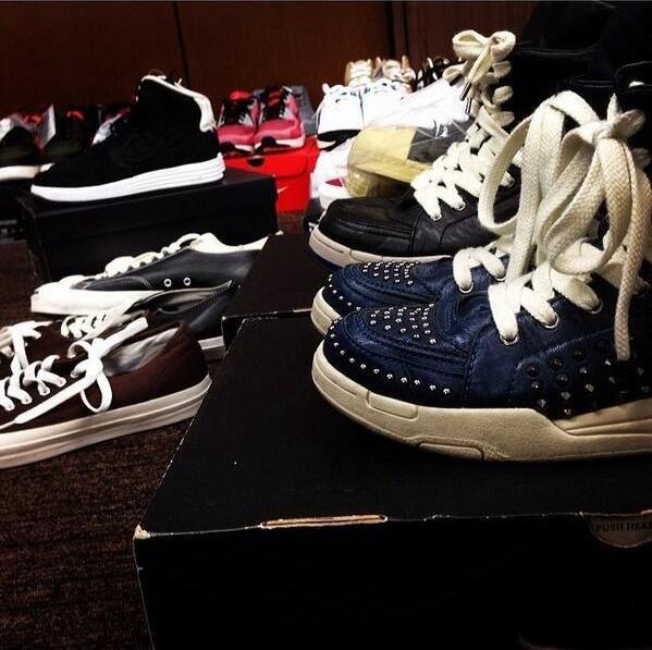 Les shoes de Jin