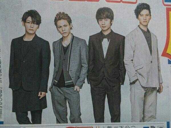 L ' album Comme Here sortira le 25/06, dont Expose, To the limite et..... 4 SOLOS ! Enfin celui de Kazuya ?
