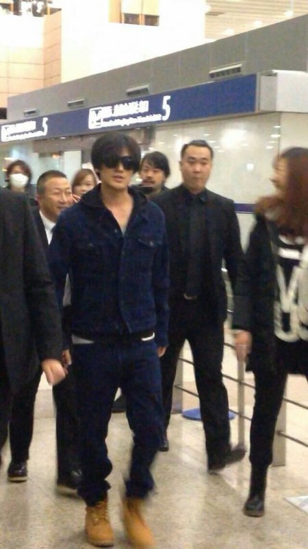 La tournée de Jin passe par Shanghai