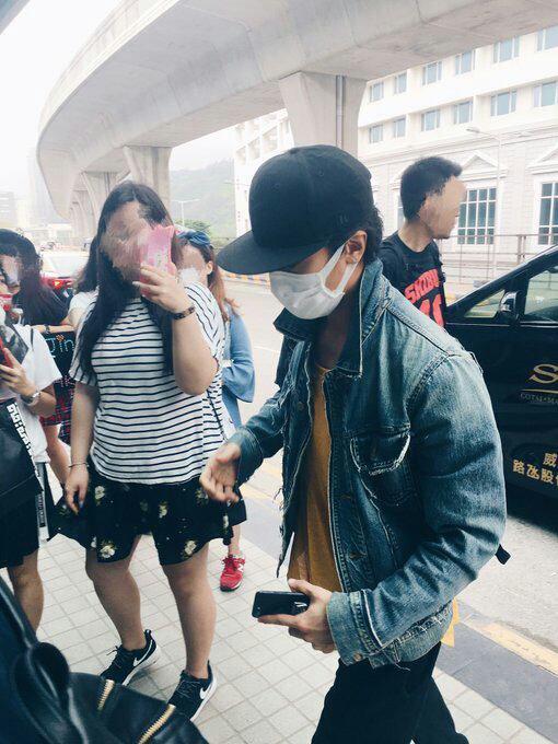 Jin de retour 5 Macao pour son concert au Yoyogi