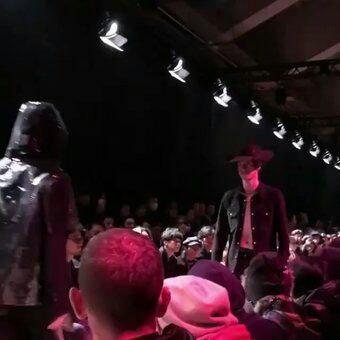 Fashion week à Tokyo