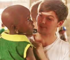 Je repenser a quand ils ont etait au Ghana puis j'ai versé des larmes