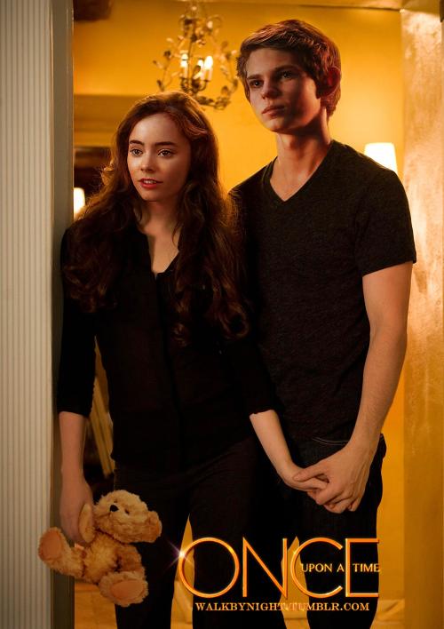 Emma et Luke (avant qu'il parte)