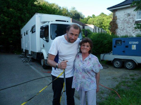 ma maman avec Francois l'embrouille