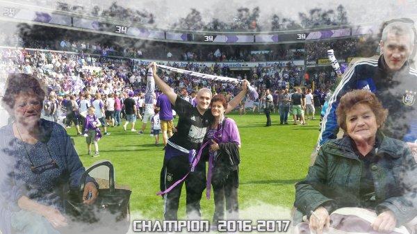 Anderlecht Champion  2016-2017