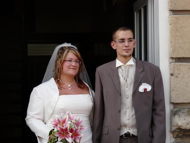 nous nous marions le 30 aout 2008