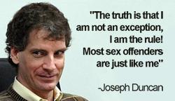 JOSEPH EDWARD DUNCAN- LE PIRE DE TOUS