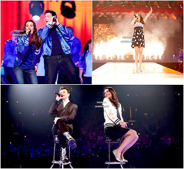 """Nouveaux stills du film """"Glee ! On Tour : Le Film 3D"""" sortie le 28 septembre 2011 au cinéma (France) ! Qui l'a vue ?"""