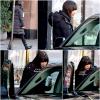 24/12/2011  : Lea, l'air très fatiguée, a été vue montant dans une voiture dans les rues de New York !