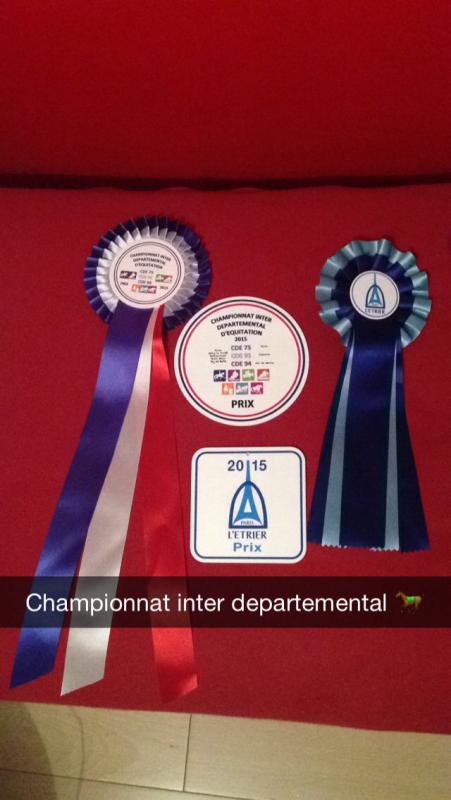 Hunter Club 2 Fig Imposées - Championnat Inter Départemental - 4ème/34 Millénia Gannettes