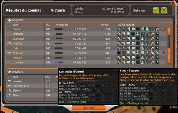Week end double xp : Xp sympa / Panda 200