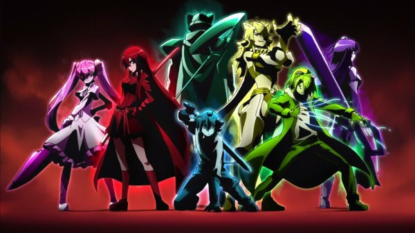 Akame ga Kill / Red Eyes Sword