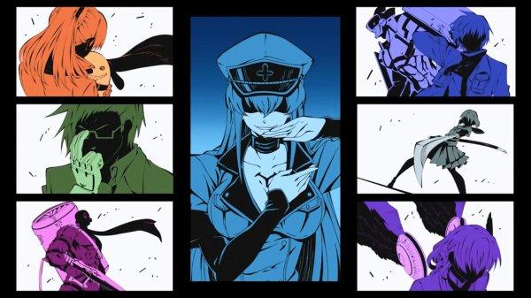 Akame ga Kill / Red Eyes Sword