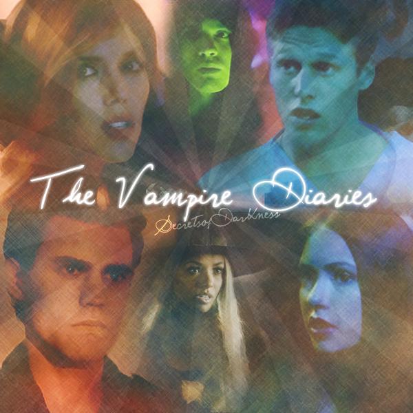 The Vampire Diaries , le romantique Crea