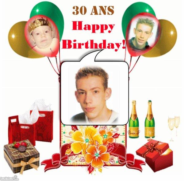 joyeux 30eme anniversaire mon gamin