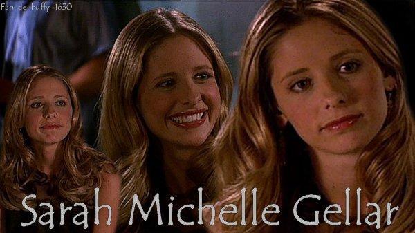 Biographie de Sarah Michelle Gellar
